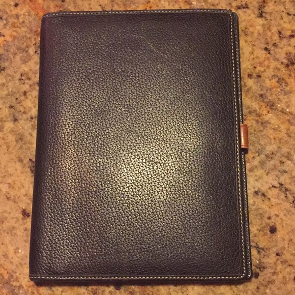 9a1a6cd4650 Coach Accessories | Leather Agenda Cover | Poshmark